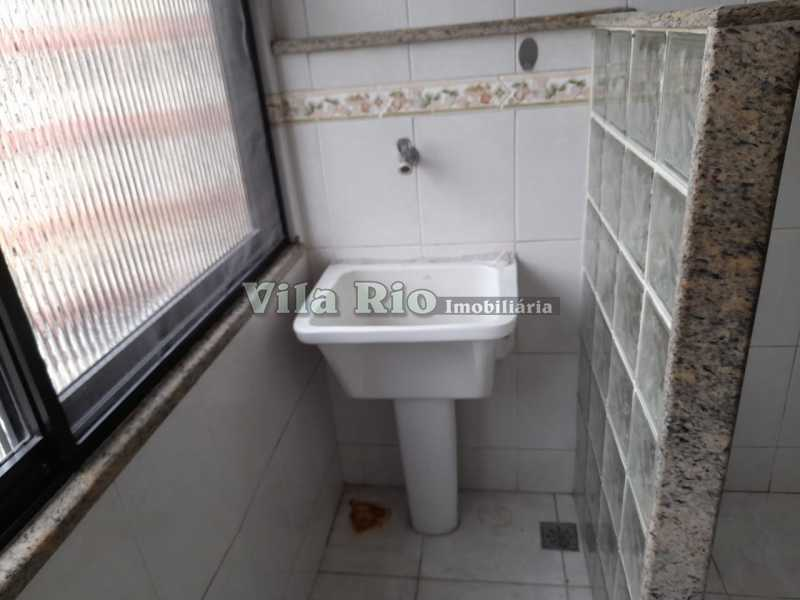 AREA. - Apartamento 2 quartos para alugar Vista Alegre, Rio de Janeiro - R$ 1.100 - VAP20129 - 15