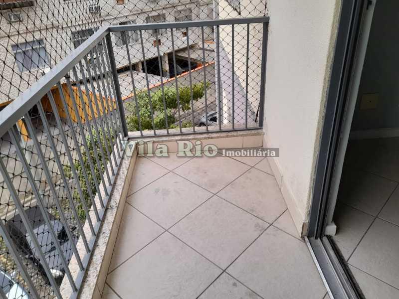 VARANDA 1. - Apartamento 2 quartos para alugar Vista Alegre, Rio de Janeiro - R$ 1.100 - VAP20129 - 16