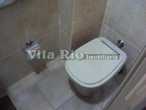 BANHEIRO EMPREGADA1 - Apartamento 2 quartos à venda Vista Alegre, Rio de Janeiro - R$ 430.000 - VA20753 - 12