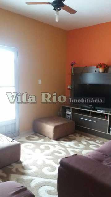 SALA - Casa 2 quartos à venda Honório Gurgel, Rio de Janeiro - R$ 390.000 - VCA20014 - 1