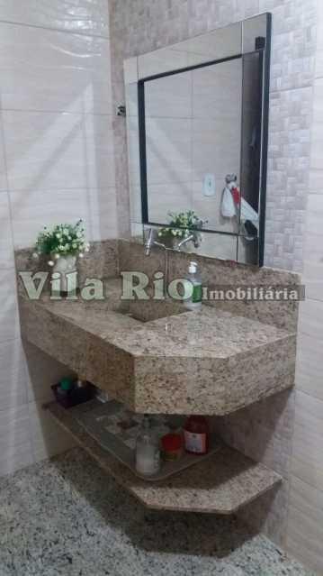 BANHEIRO - Casa 2 quartos à venda Honório Gurgel, Rio de Janeiro - R$ 390.000 - VCA20014 - 20