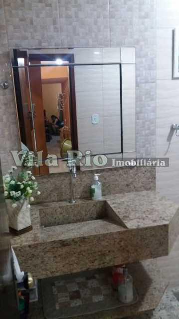 BANHEIRO1 - Casa 2 quartos à venda Honório Gurgel, Rio de Janeiro - R$ 390.000 - VCA20014 - 24