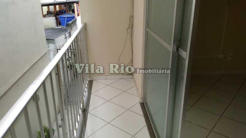 VARANDA - Casa 2 quartos para alugar Vista Alegre, Rio de Janeiro - R$ 1.200 - VCA20016 - 17