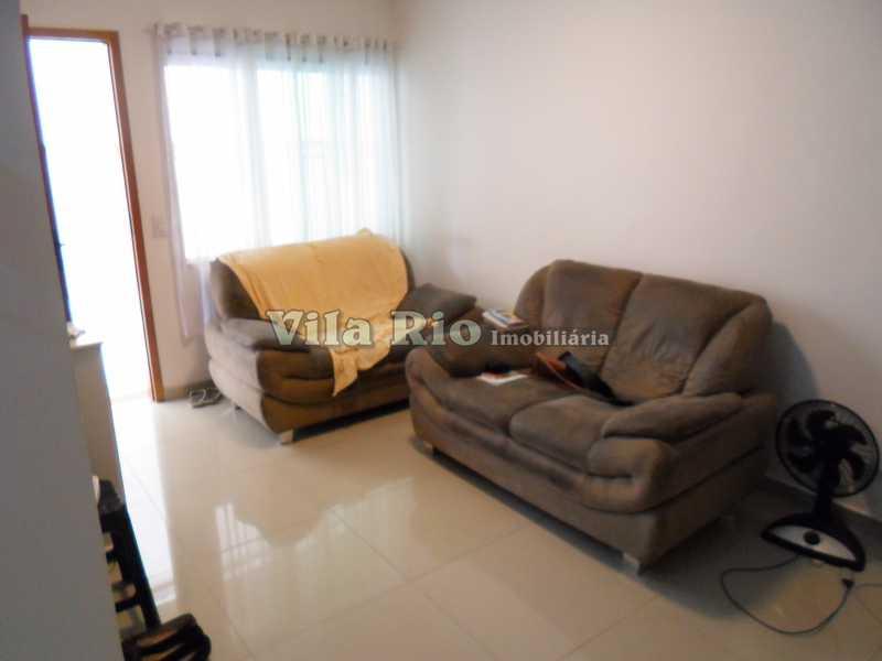 SALA 1 - Casa 2 quartos à venda Vila da Penha, Rio de Janeiro - R$ 450.000 - VCA20017 - 1