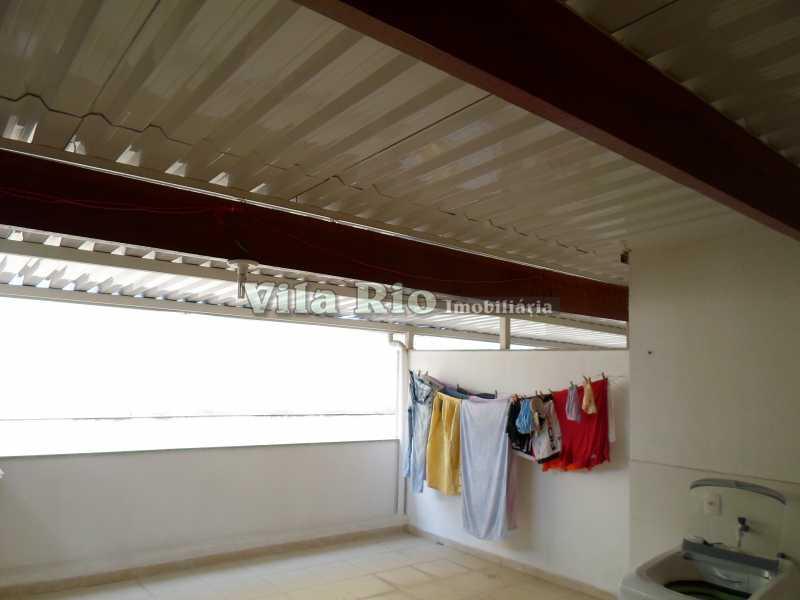 TERRAÇO 2 - Casa 2 quartos à venda Vila da Penha, Rio de Janeiro - R$ 450.000 - VCA20017 - 16