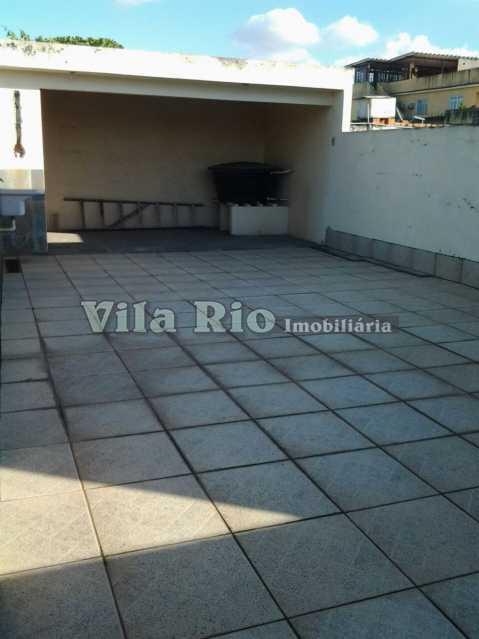 TERRAÇO - Casa 4 quartos à venda Pavuna, Rio de Janeiro - R$ 350.000 - VCA40008 - 21