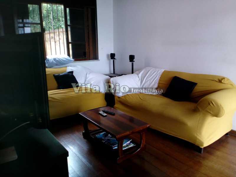 SALA - Casa 4 quartos à venda Vila Kosmos, Rio de Janeiro - R$ 630.000 - VCA40009 - 1