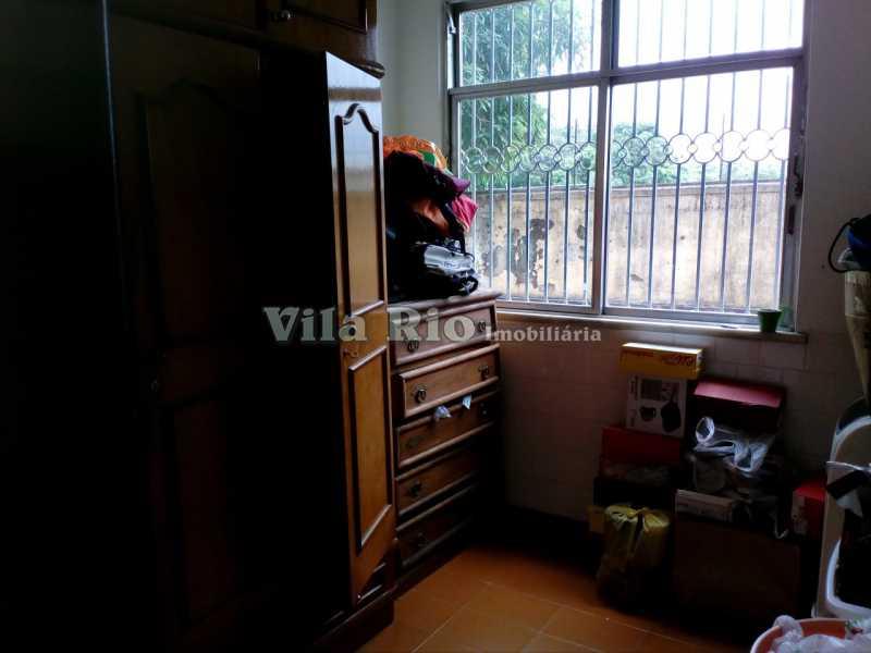 QUARTO1 - Casa 4 quartos à venda Vila Kosmos, Rio de Janeiro - R$ 630.000 - VCA40009 - 4