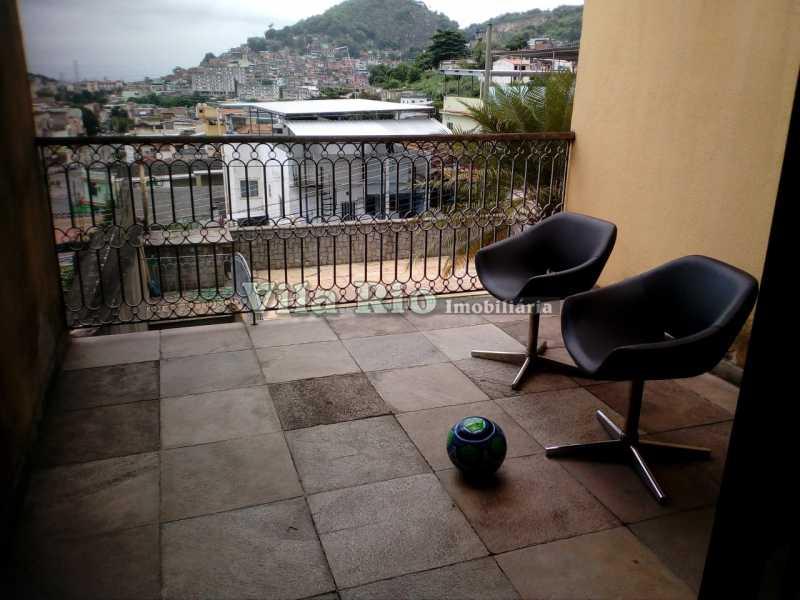 VARANDA - Casa 4 quartos à venda Vila Kosmos, Rio de Janeiro - R$ 630.000 - VCA40009 - 16
