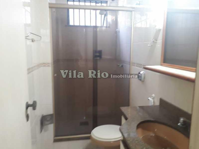 Banheiro social - Apartamento 3 quartos para alugar Vila da Penha, Rio de Janeiro - R$ 1.900 - VAP30052 - 10