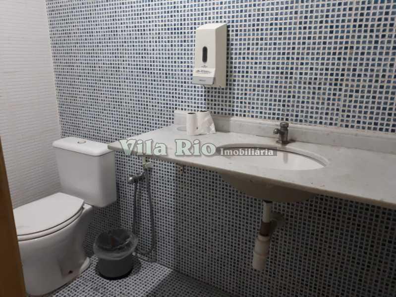 Banheiro - Galpão 780m² à venda Jardim América, Rio de Janeiro - R$ 1.000.000 - VGA00010 - 22