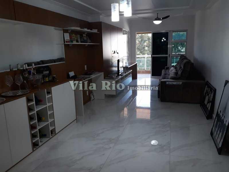 SALA - Apartamento À VENDA, Vila da Penha, Rio de Janeiro, RJ - VAP30065 - 1
