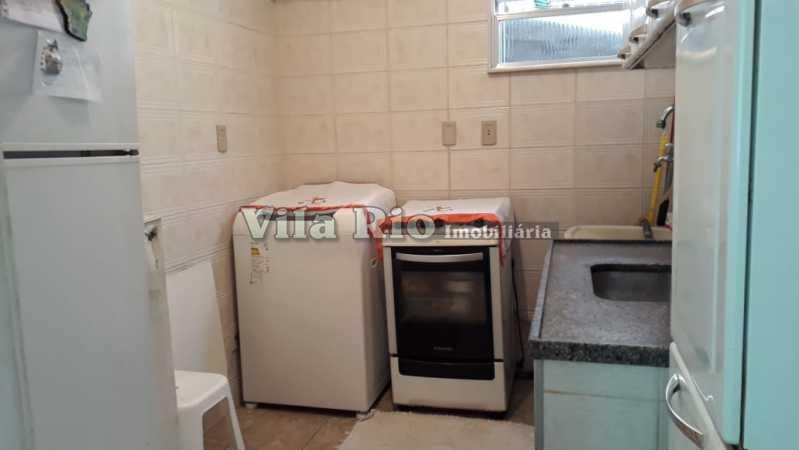 Cozinha e área - Apartamento 2 quartos à venda Irajá, Rio de Janeiro - R$ 220.000 - VAP20245 - 21