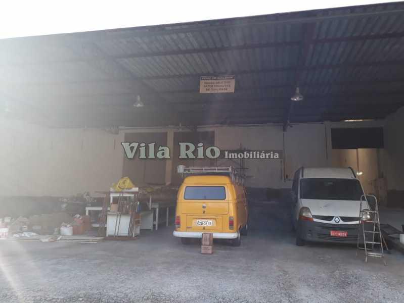 Área externa.3 - Galpão 517m² à venda Oswaldo Cruz, Rio de Janeiro - R$ 2.500.000 - VGA00012 - 7