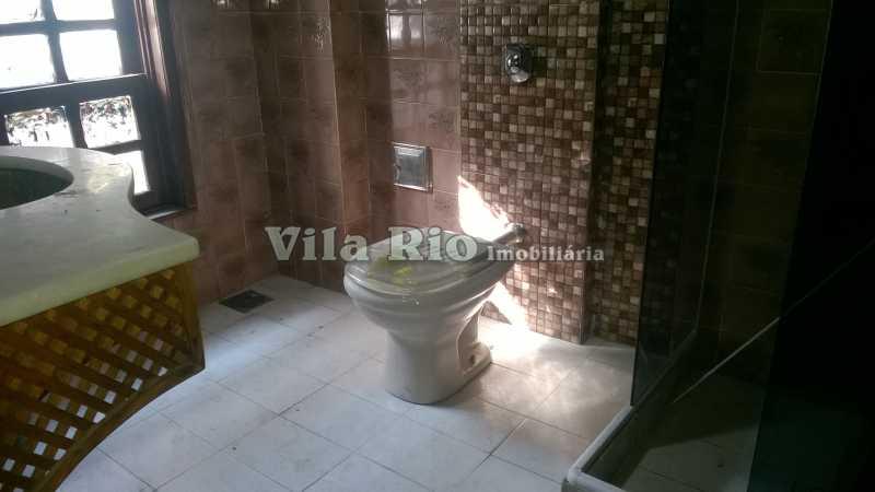 BANHEIRO - Casa 4 quartos à venda Vila da Penha, Rio de Janeiro - R$ 780.000 - VCA40012 - 17