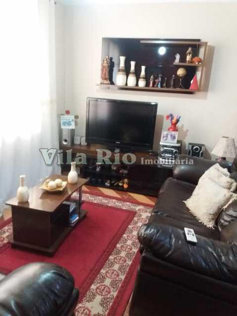 SALA - Casa 4 quartos à venda Jardim América, Rio de Janeiro - R$ 426.000 - VCA40014 - 1