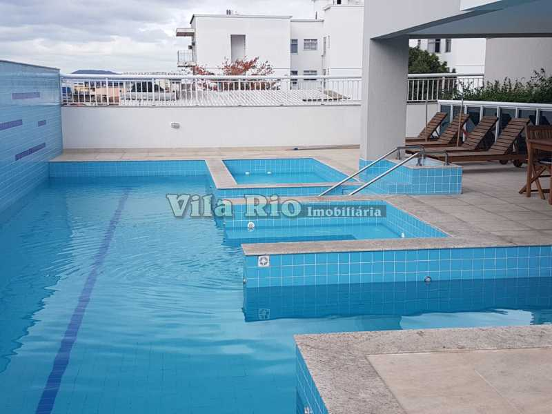 PISCINA - Apartamento 2 quartos à venda Olaria, Rio de Janeiro - R$ 333.000 - VAP20259 - 15