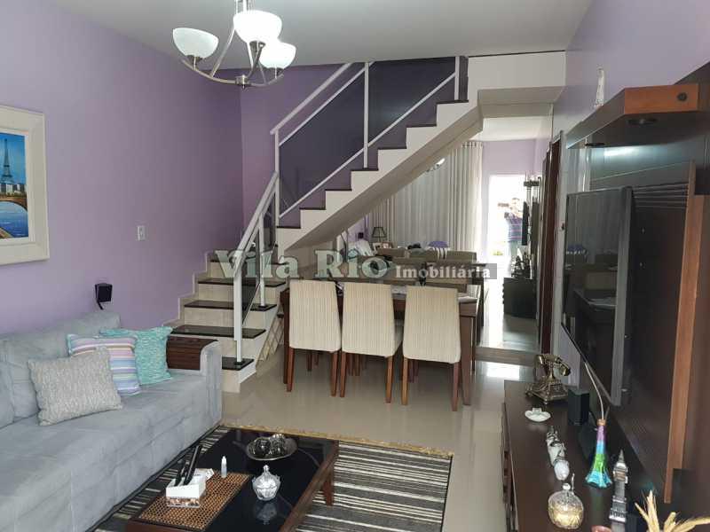 SALA 1 - Casa 2 quartos à venda Vicente de Carvalho, Rio de Janeiro - R$ 280.000 - VCA20025 - 1