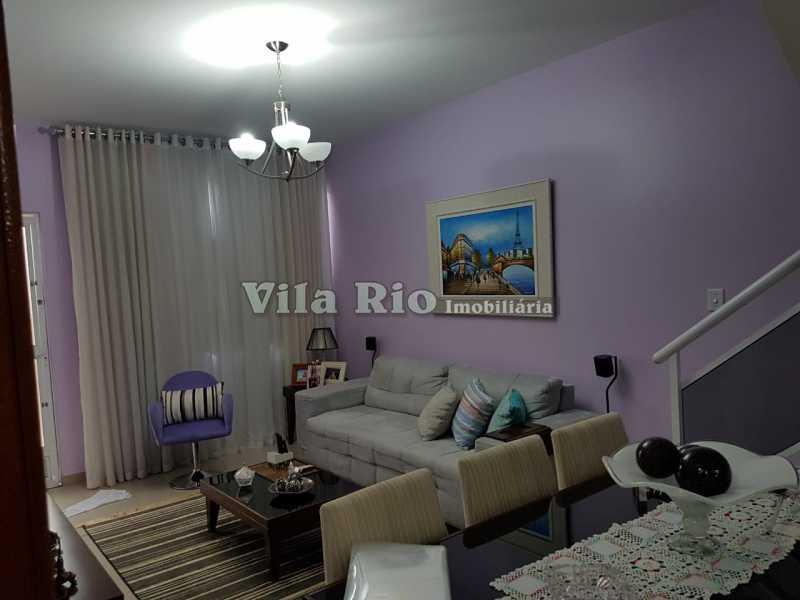SALA 4 - Casa 2 quartos à venda Vicente de Carvalho, Rio de Janeiro - R$ 280.000 - VCA20025 - 5