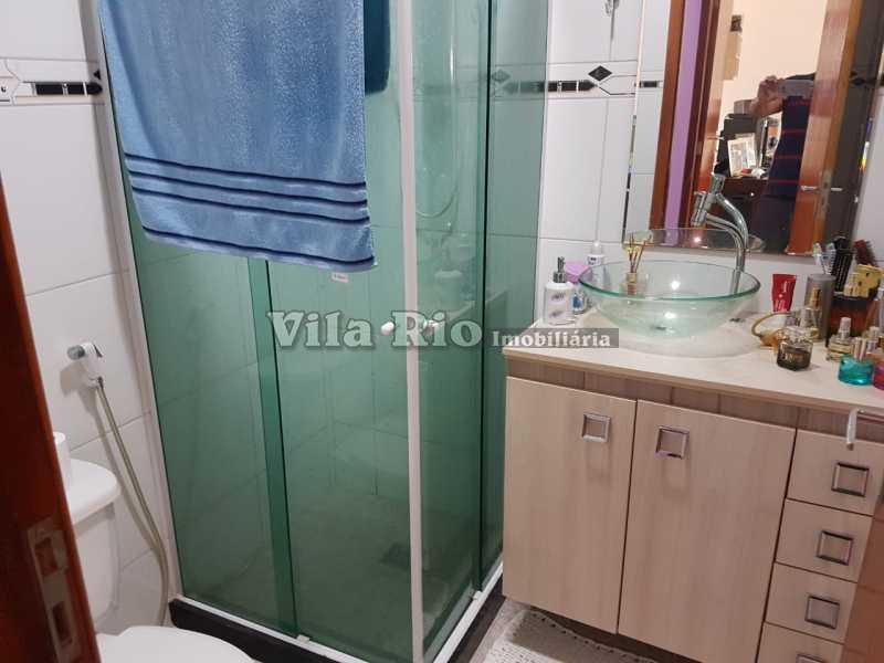 BANHEIRO 1 - Casa 2 quartos à venda Vicente de Carvalho, Rio de Janeiro - R$ 280.000 - VCA20025 - 13