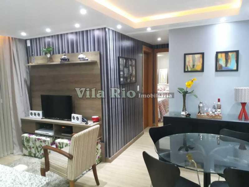 SALA 1 - Apartamento À VENDA, Irajá, Rio de Janeiro, RJ - VAP20280 - 1