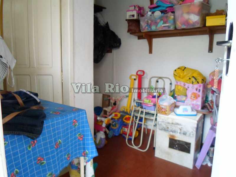 QUARTO - Casa 3 quartos à venda Braz de Pina, Rio de Janeiro - R$ 590.000 - VCA30027 - 7