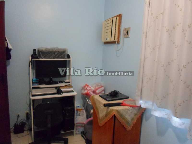 QUARTO1 1 - Casa 3 quartos à venda Braz de Pina, Rio de Janeiro - R$ 590.000 - VCA30027 - 8