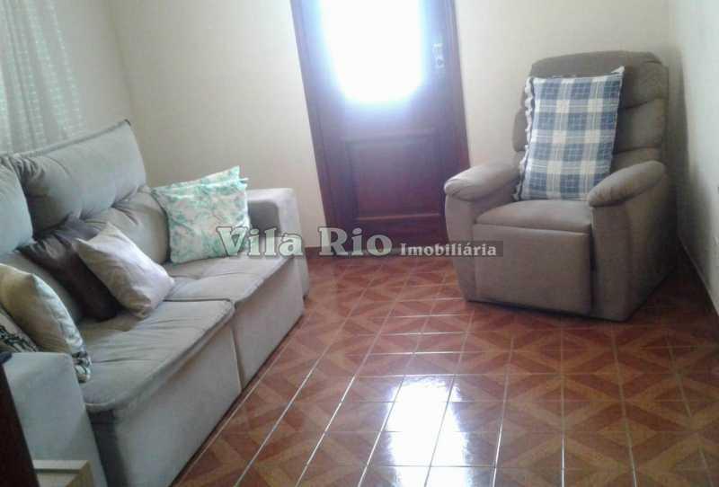 SALA - Casa 3 quartos à venda Parada de Lucas, Rio de Janeiro - R$ 450.000 - VCA30029 - 3