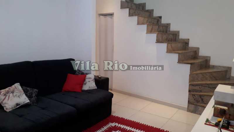 Sala.2 - Casa Irajá, Rio de Janeiro, RJ À Venda, 2 Quartos, 102m² - VCA20032 - 4