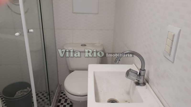 Banheiro terraço - Casa Irajá, Rio de Janeiro, RJ À Venda, 2 Quartos, 102m² - VCA20032 - 14