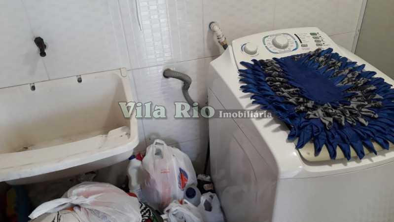 Área de lavanderia - Casa Irajá, Rio de Janeiro, RJ À Venda, 2 Quartos, 102m² - VCA20032 - 19