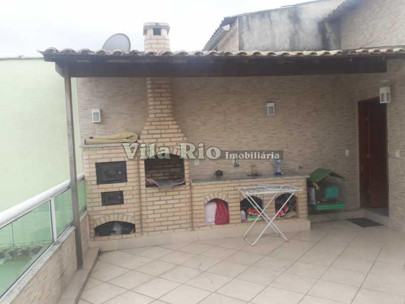 Churrasqueira - Casa Irajá, Rio de Janeiro, RJ À Venda, 2 Quartos, 102m² - VCA20032 - 1