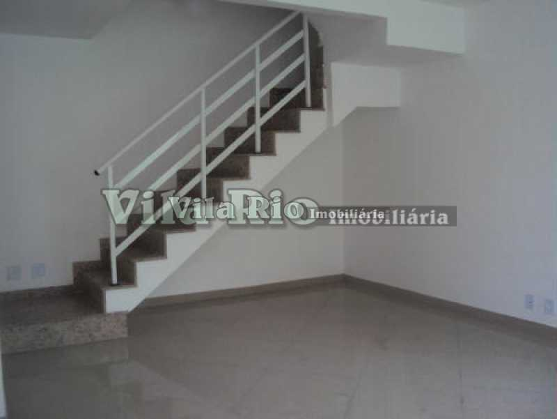sala - Casa 3 quartos para venda e aluguel Vista Alegre, Rio de Janeiro - R$ 850.000 - VCA30034 - 1