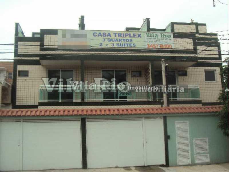 fachada - Casa 3 quartos para venda e aluguel Vista Alegre, Rio de Janeiro - R$ 850.000 - VCA30034 - 24