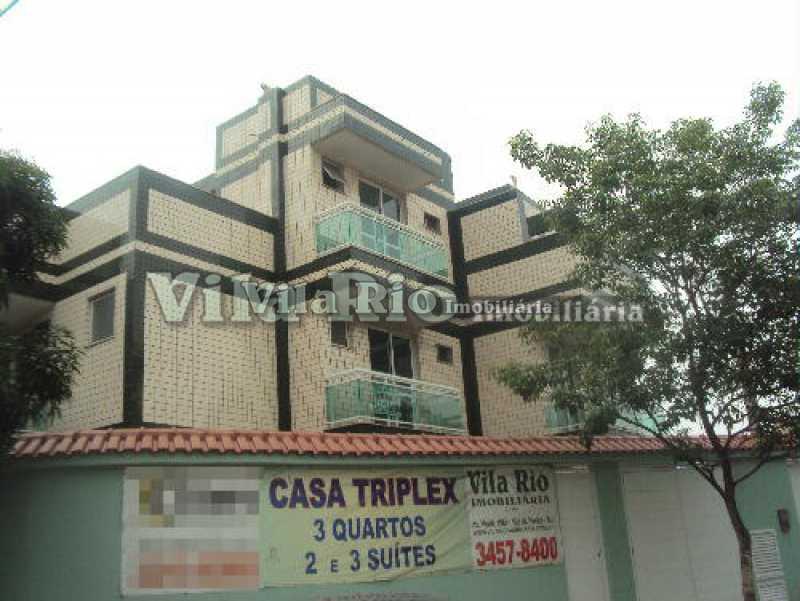 fachada1 - Casa 3 quartos para venda e aluguel Vista Alegre, Rio de Janeiro - R$ 850.000 - VCA30034 - 25
