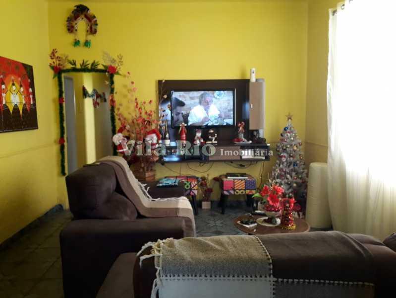 Sala 1 - Casa 4 quartos à venda Vaz Lobo, Rio de Janeiro - R$ 420.000 - VCA40023 - 1