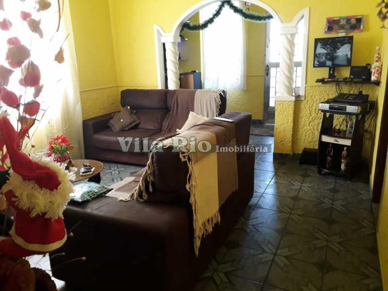 Sala - Casa 4 quartos à venda Vaz Lobo, Rio de Janeiro - R$ 420.000 - VCA40023 - 3