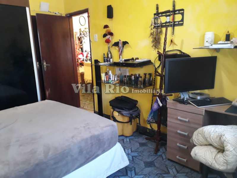 Quarto 1 - Casa 4 quartos à venda Vaz Lobo, Rio de Janeiro - R$ 420.000 - VCA40023 - 5
