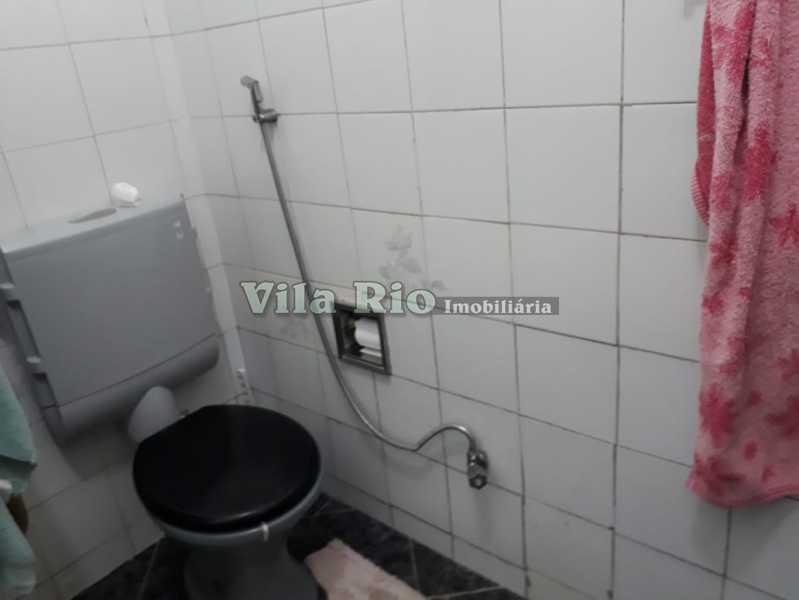 Banheiro - Casa 4 quartos à venda Vaz Lobo, Rio de Janeiro - R$ 420.000 - VCA40023 - 13