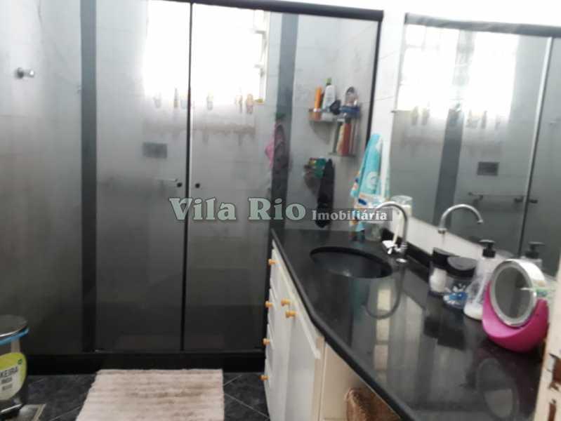 Banheiro1 - Casa 4 quartos à venda Vaz Lobo, Rio de Janeiro - R$ 420.000 - VCA40023 - 14