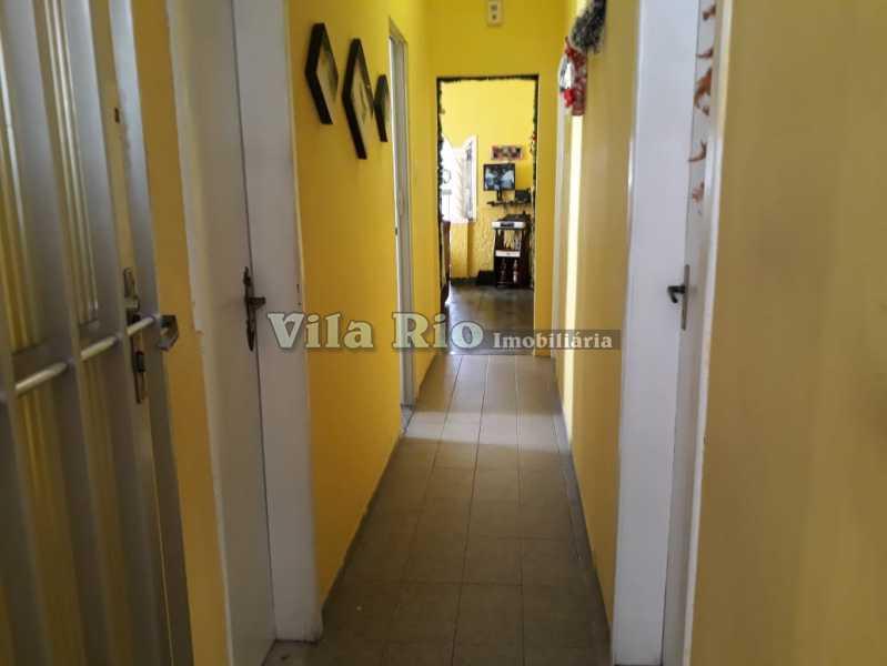 Circulação - Casa 4 quartos à venda Vaz Lobo, Rio de Janeiro - R$ 420.000 - VCA40023 - 15