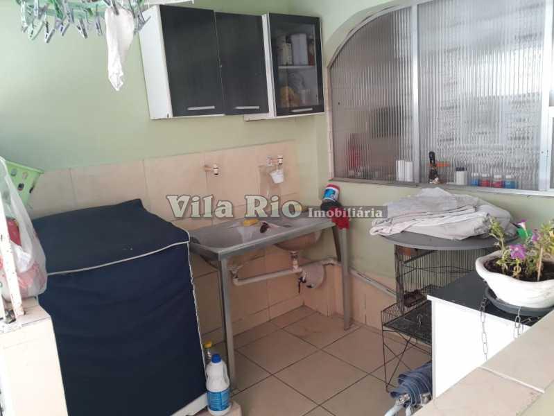 Lavanderia - Casa 4 quartos à venda Vaz Lobo, Rio de Janeiro - R$ 420.000 - VCA40023 - 21