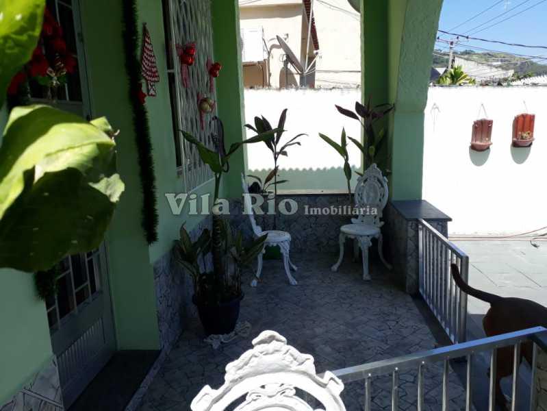 Varanda 1 - Casa 4 quartos à venda Vaz Lobo, Rio de Janeiro - R$ 420.000 - VCA40023 - 27