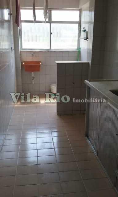 Cozinha e área - Apartamento Madureira, Rio de Janeiro, RJ À Venda, 2 Quartos, 60m² - VAP20359 - 17