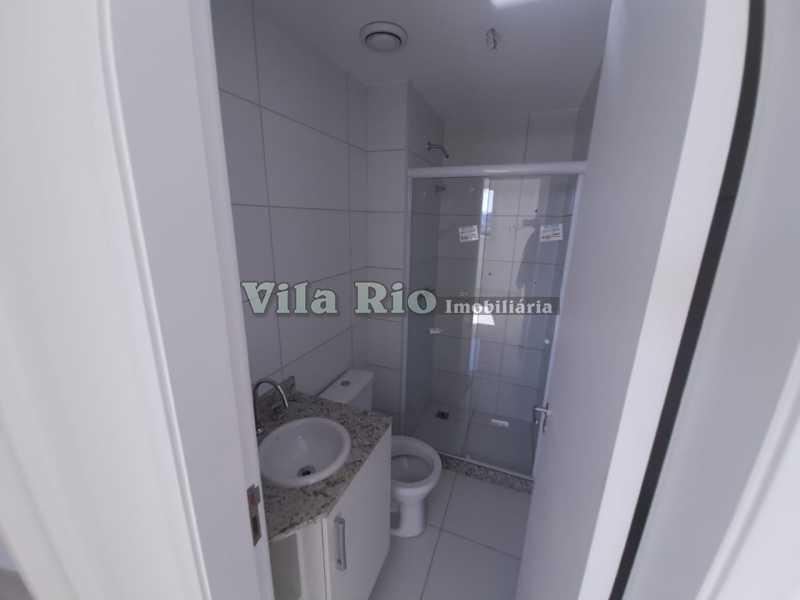 BANHEIRO1. - Apartamento 2 quartos à venda Cachambi, Rio de Janeiro - R$ 402.150 - VAP20363 - 8