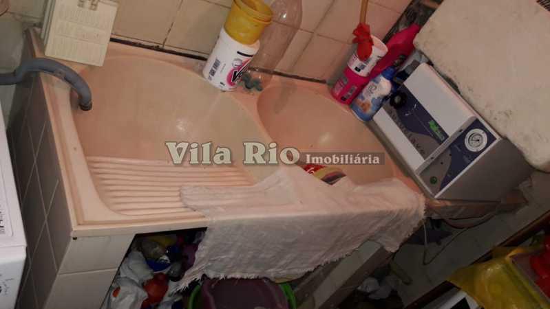 Área de serviço1 - Casa de Vila 2 quartos à venda Tomás Coelho, Rio de Janeiro - R$ 178.000 - VCV20009 - 17