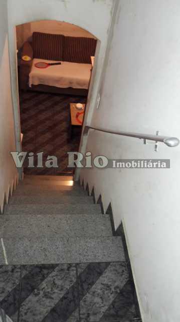 Escada acesso - Casa de Vila 2 quartos à venda Tomás Coelho, Rio de Janeiro - R$ 178.000 - VCV20009 - 19