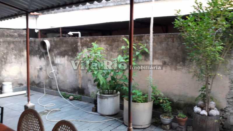 Quintal - Casa de Vila 2 quartos à venda Tomás Coelho, Rio de Janeiro - R$ 178.000 - VCV20009 - 22