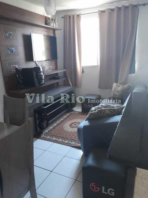 SALA - Apartamento 2 quartos à venda Guadalupe, Rio de Janeiro - R$ 150.000 - VAP20372 - 1