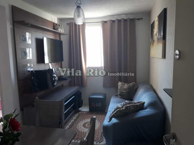 SALA1 - Apartamento 2 quartos à venda Guadalupe, Rio de Janeiro - R$ 150.000 - VAP20372 - 4